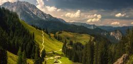 На склонах Йеннера / Альпы, Верхняя Бавария.Живописные склоны горы Йеннер, Берхтесгаден.  http://www.youtube.com/watch?v=1rPAnxsSk40