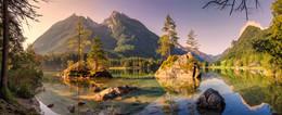 Острова на Хинтерзее / Озеро Хинтерзее, Альпы, Верхняя Бавария. http://www.youtube.com/watch?v=RuWNRHyuzH0