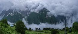 Непогода в горах, непогода... / Подъём на вершину Муса - Ачитара, КЧР, Домбай.  http://www.youtube.com/watch?v=bUe38o4BXTE