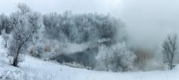 Белое дыхание зимы / Это моя последняя работа в уходящем году. Хочу всех поздравить с наступающим Новым Годом! Мира, здоровья, благополучия и творческих успехов всем нам в будущем, 2017 году! http://youtu.be/KqPUky3TirM