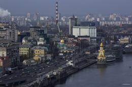 Купола и крыши. / Киев.