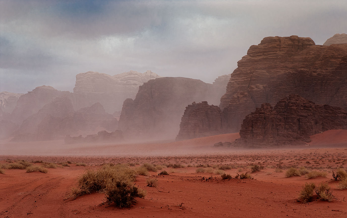 Заметая все следы / Пустыня Вади Рам, Иордания