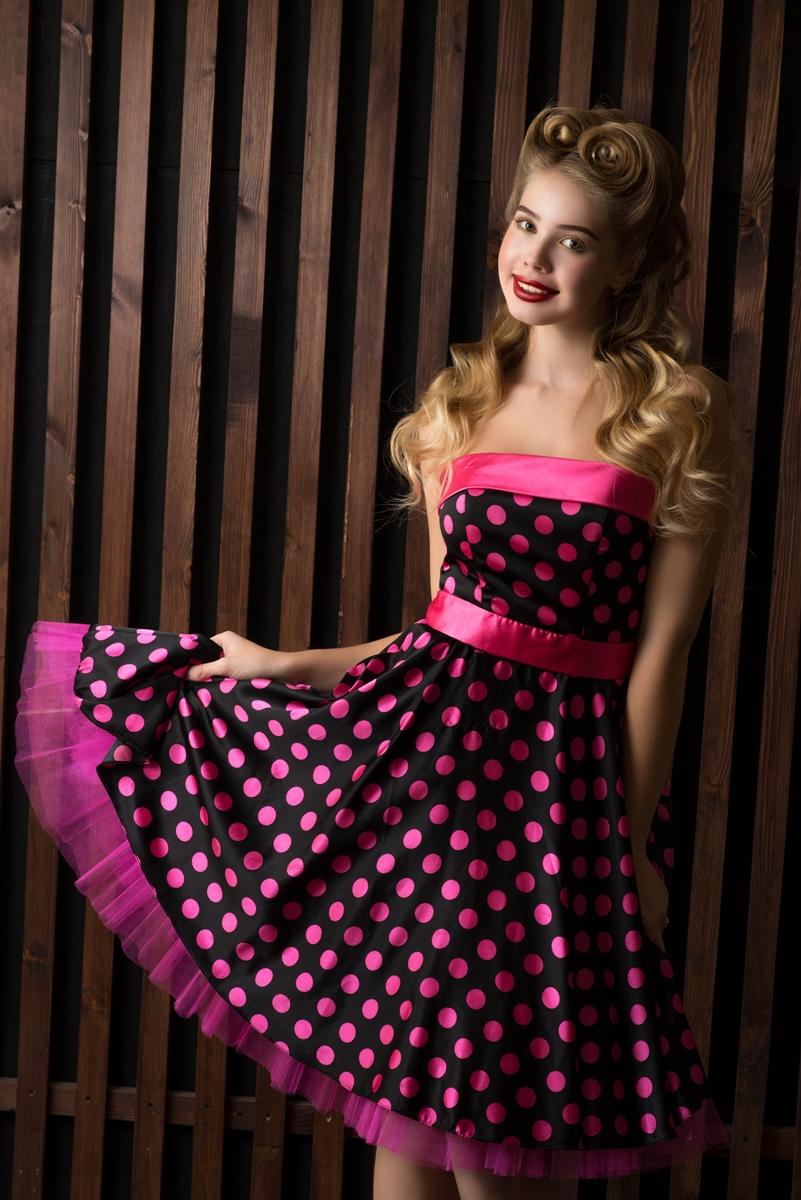 Платье стиляги для девушки 136