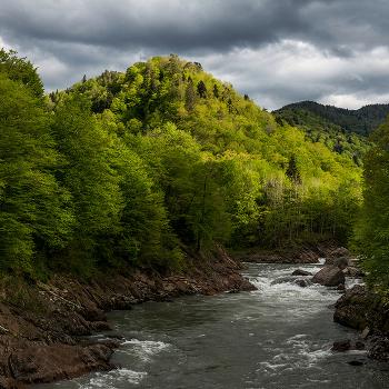 Где река Киша впадает в реку Белая