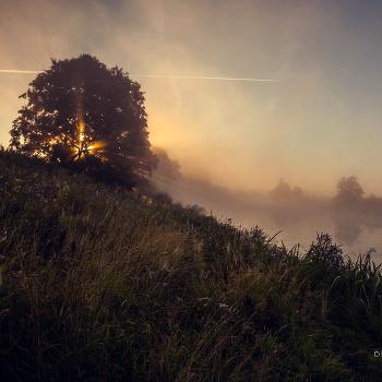 Рассвет на реке Сестра.